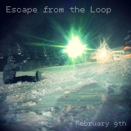 スノボナイター参戦。(Escape from the Loop / Fear, and Loathing in Las Vegas) Snow Winter Sports Snowboarding Enjoying Life White Escape From The Loop Fear, And Loathing In Las Vegas