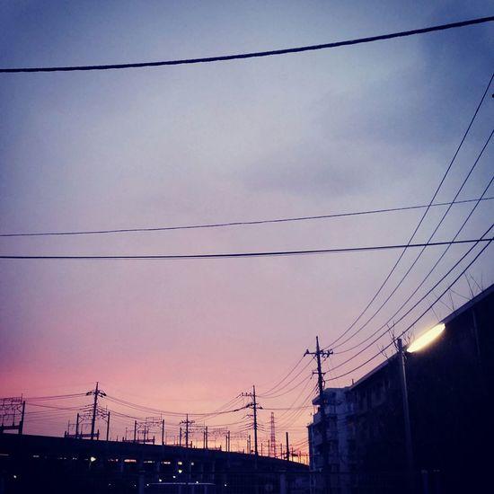 夕焼け グラデーション Sunset Gradation