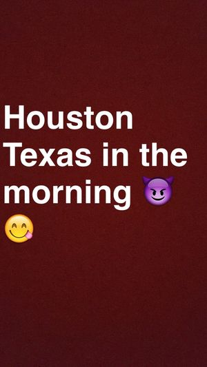 Houston 😊 Houston Yasss👌❤️ Wassup