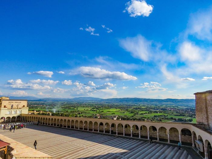 Assisi, Perugia, Italy Assisi, Italy Perugia Umbria Sky Architecture Cloud - Sky Built Structure Building Exterior Travel Destinations Nature