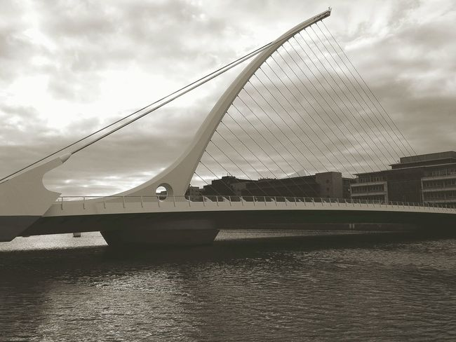Dublin Samuel Beckett Bridge Blackandwhite The Architect - 2015 EyeEm Awards