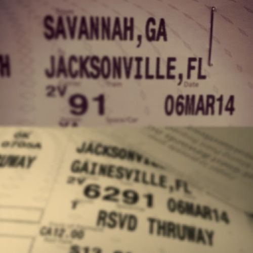 Tickets Roadtrip Goinghome Gainesville