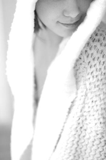 Model Gone Girl Blackandwhite Monochrome