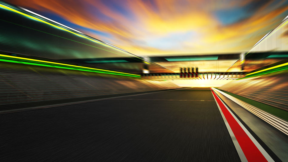 Architecture Blurred Motion Built Structure City Connection Diminishing Perspective Direction Illuminated Light Trail Long Exposure Mode Of Transportation Motion No People on the move Outdoors Road Speed The Way Forward Transportation Travel