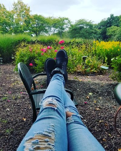 Jeans Nature Outdoors Sky Garden Outside Garden Love Flower Flowers Green Nature Garden Plants Gardenflowers Grass Day Boots Ripped Jeans Style Fashion Beautiful Nature Beautiful ♥