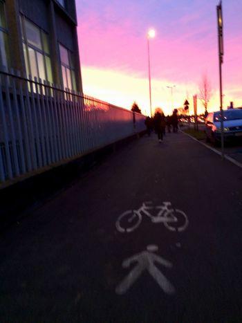 Hello World Enjoying Life Colors Landscape Photography Morning Light Sunrise School