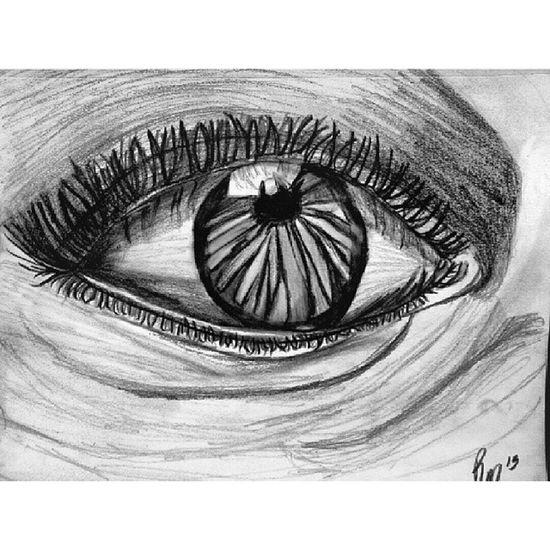 """""""Los ojos son la puerta del alma"""". Artclass Drawing"""