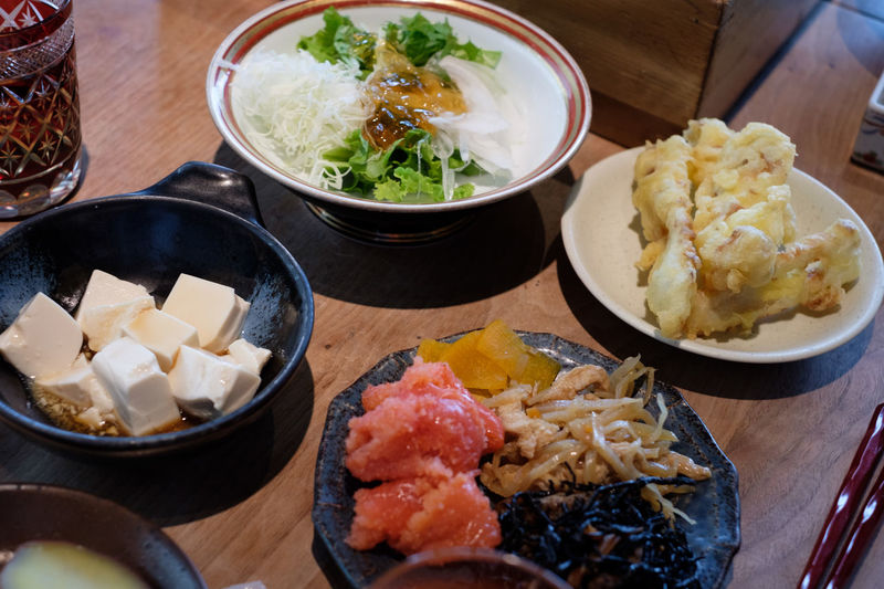 FUJIFILM X-T2 Food And Drink Japan Japan Photography Japanese Food Bowl Focus On Foreground Food Foodporn Fujifilm Fujifilm_xseries Ginza Healthy Eating Japanese Food Plate Ready-to-eat Serving Size X-t2 銀座