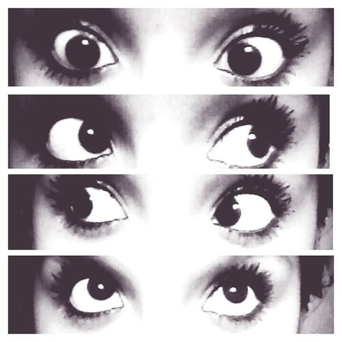 my eyeballs <3 love my lashes c;