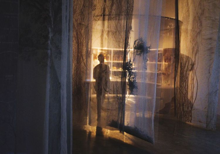 Real People Window Glass - Material Curtain Transparent Indoors  Water