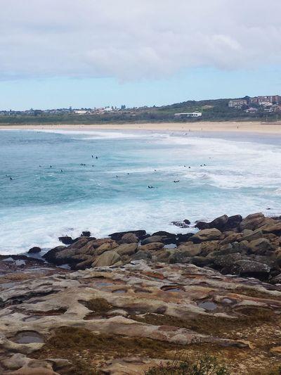 Sunday Surf Sea Surfing Sydney Beach Enjoying Life