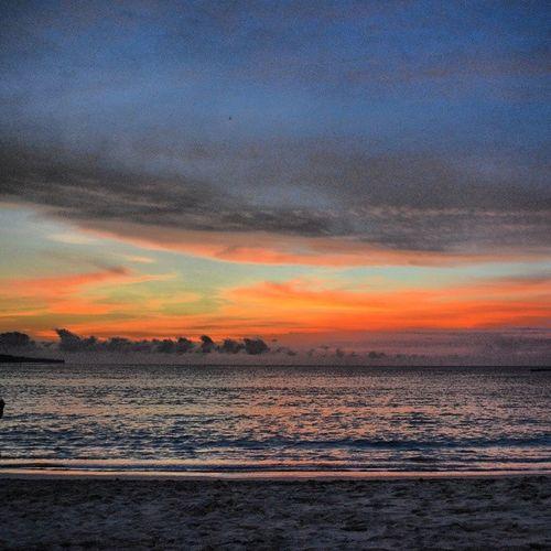 Sunset Sun_set Sun Beach balidreamlandasiaseaocceanindonesiaبالياندونيسياغروبتصويريclouds