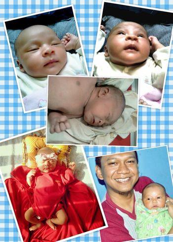 my new baby girl . . . Khansa Novatiara Aqiilah . . . Babygirl Pretty Girl Baby Babies