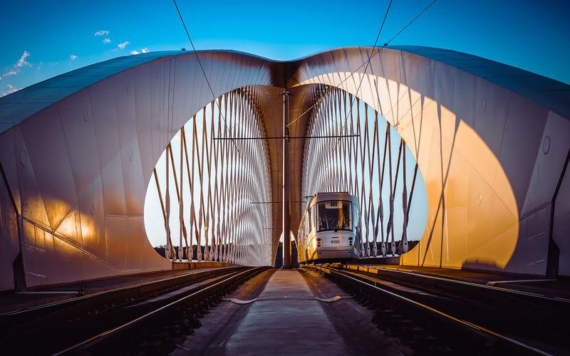 Troja Bridge at