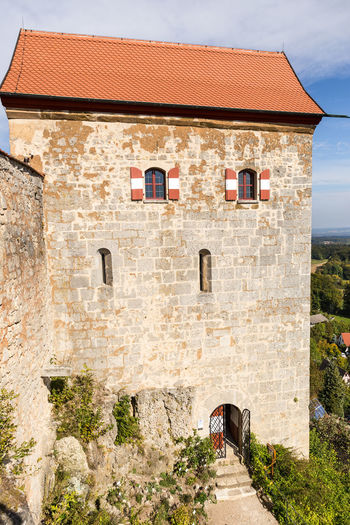 Castle Hohenstein Architecture Building Exterior Built Structure Day History No People Outdoors Sky