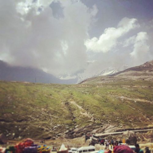 Snow Manali Rohtang Lovelyview cool weather feltgood happy