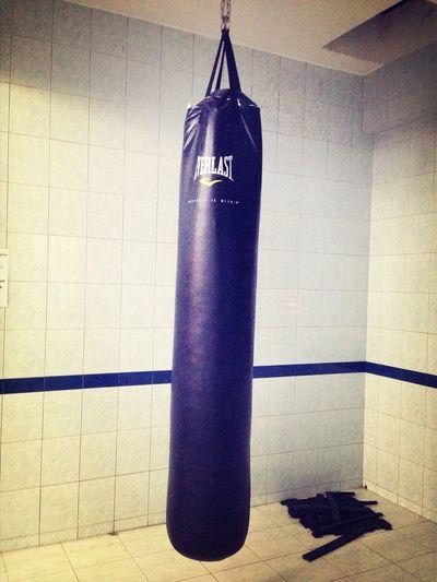 Everlast Punchbag anger is a short madness Provoke Kick Boxing