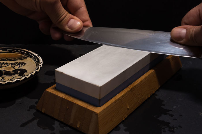 sharpening knife with whetstone Butcher Classic Cooking Knife Me Blade Cute Dull Equipment Grindstone Instrument Kitchen Kitchenware Rough Sharp Sharpener Sharpening Steel Stone Tool Whetstone