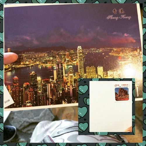 Postcard Happheart Simplejoy Fromhkwithlove Thankyou
