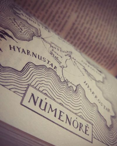 Númenor Lordoftherings Arda Valar Tolkien Numenor Unfinished Tales The Silmarillion Book Books Map