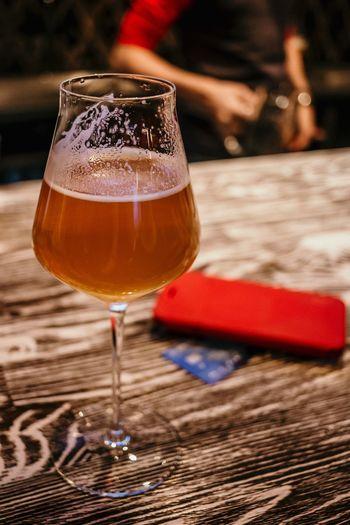 One beer,