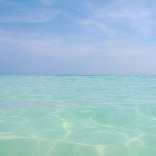 Ocean Blue Sea Water Beauty In Nature Sky Nature Horizon Over Water Day outdoor Heaven Scenics Krabi Thailand Thailand