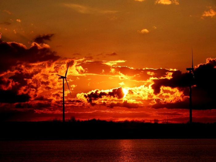 Sunset Niebo Sky Zachodslonca Zachod Polska Sieradz