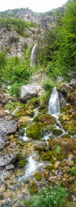 Theth Waterfall Alps Explore Albania From My Point Of View Travel Photography Taking Photos Getting Inspired Panorama Nature