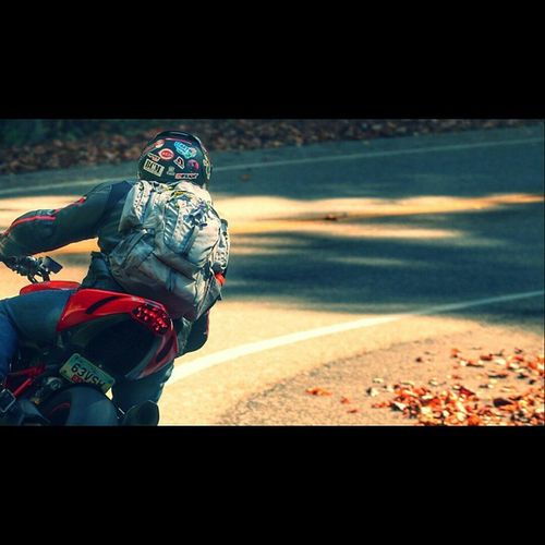Youll go where your eyes take you. Figurative Literal Ducatistreetfighter Ducati fall seasons dainese kelty