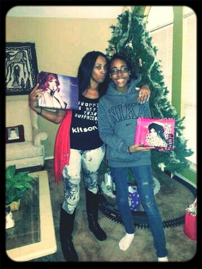 Me & My Mommie On Christmas <3