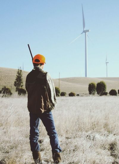 Northern California Hunting Young Hunter Shotgun
