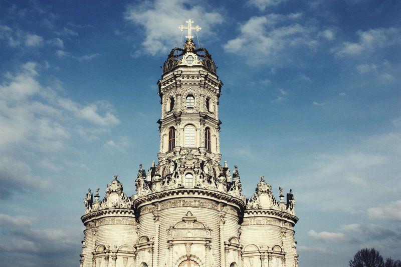 Podolsk Dubrovitsi Церковь Знамения