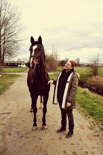 Mein Schatz Bestes Pferd Hochhaus WeltAllerbester♥ Love ♥
