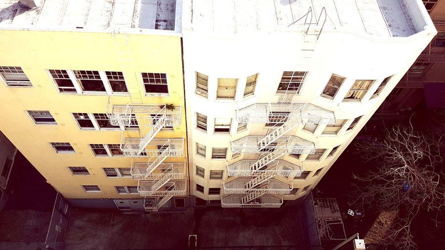 Alleyway Apartmentbuilding AlleyShots Rooftopphotography California Dreamin