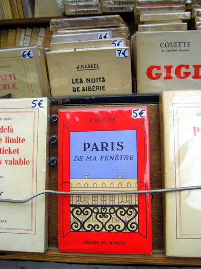 Books Old Books Seine Paris Bouquinistes French Books Text Guidance No People Day Outdoors