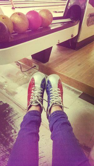 只有我有的銀色鞋鞋? Bowling In Kinmen