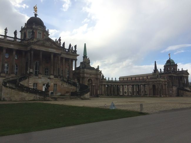 #Potsdam Architecture Building Exterior Built Structure City Cloud - Sky Day Dome Grass History No People Outdoors Place Of Worship Religion Sky Spirituality Travel Travel Destinations