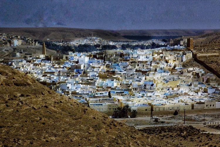 Algeria Ghardaia Oasis Sahara Desert Sable Storm