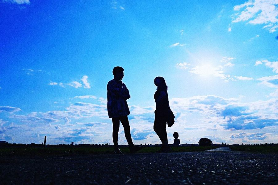Nikon Photography Sky Airport Runway Kiminonawa Good Times Couple Love