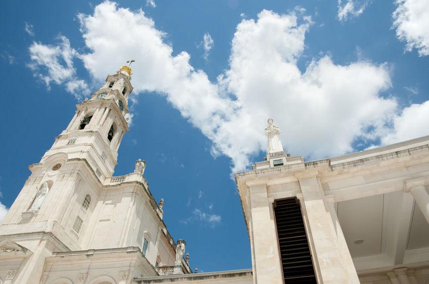 Sanctuary of Our Lady of Fatima Basilica Fátima Our Lady Of Fatima Our Lady Of The Rosary Portugal Rosary Sanctuary