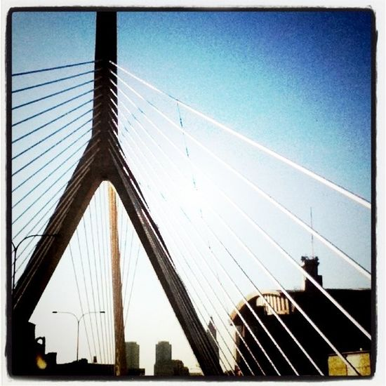 Welcome to #Boston. #bridge #architecture Architecture Bridge Boston Creativearchitecture