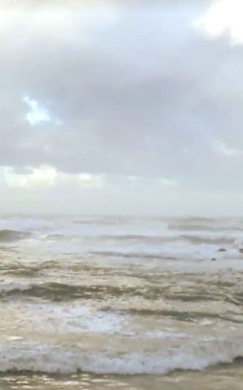 A Storm At Sea Cloud - Sky Sky Nature Sea Beach No People Tranquility