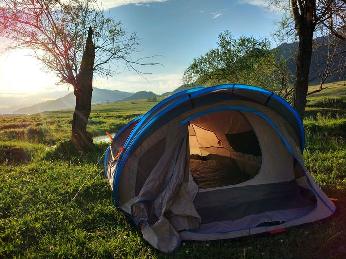 Grass Landscape Nature Tent Outdoors No People Travel Beauty In Nature Travel Photography Traveling Summer Altai Altay Gorny Altai Altai Mountains The Week Of Eyeem Green Color палатка активныйотдых Rest