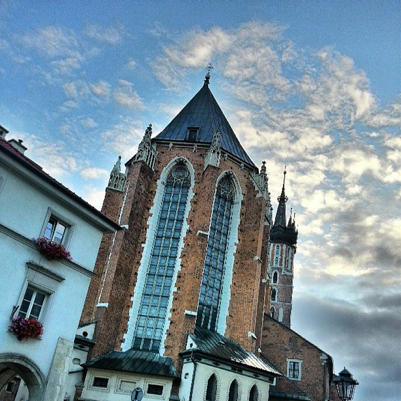 LOW ANGLE VIEW OF CHURCH AGAINST THE SKY