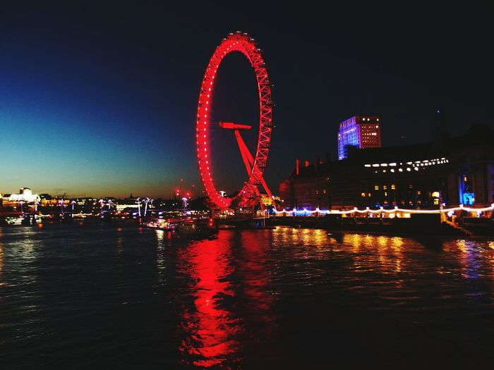 London London Eye LONDON❤ London By Night Night Nightphotography Night Lights Lights Tamigiriver Photography Photo Photographer Photooftheday First Eyeem Photo