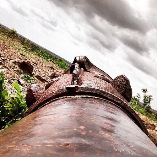 Naldurag Fort Killa Cannonfire Fire तोफ