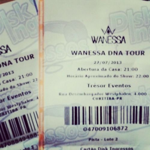 CANCELADO show de Wanessa Camargo em Curitiba!!! Fodaaaa issoo. Showcancelado Wanessacamargodna Vanessadnashow Tourdna canceladoshowdna