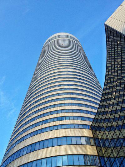 Low Angle View Of Shin Yokohama Prince Hotel Against Sky