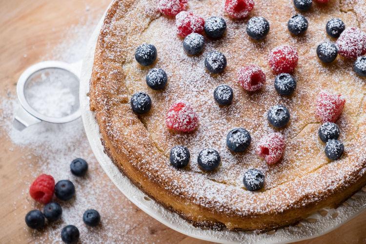 Full frame shot of cake