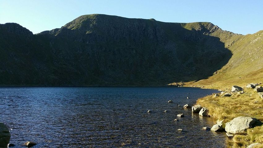 Helvellyn Taking Photos Great Scene Lake District Relaxing Great Day 😀😀👌👌 Hanging Out Enjoying Life Lovely Day Fantastic View Climbing A Mountain Blue Sky
